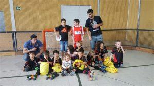 escoleta hoquei caldes club pati caldes a Girona