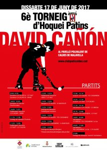 Trofeu David Cañon 2017 Caldes de Malavella hoquei patins