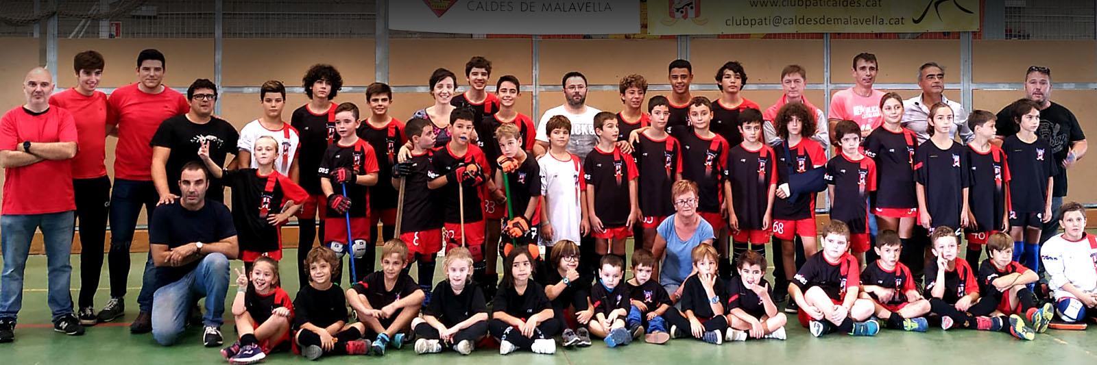 Club Pati Caldes de Malavella. Hoquei Patins. Temporada 2019-2020