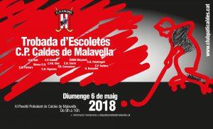 Trobada d'Escoletes Hoquei patins a Caldes de Malavella 2018