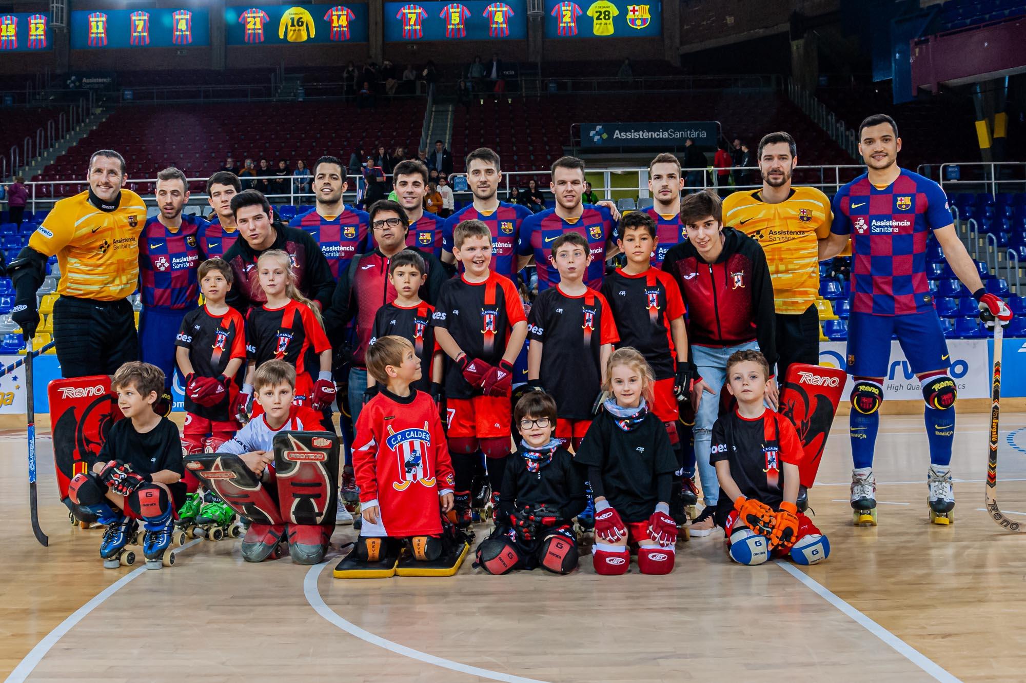 El CP Caldes visita el Palau Blaugrana