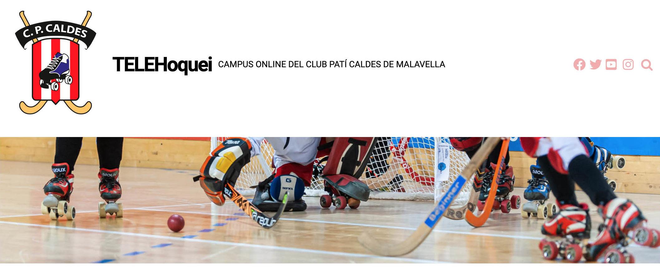 TELEHoquei, Campus on-line del CP Caldes de Malavella